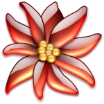 flowers icon red ‫(29601684)‬ ‫‬