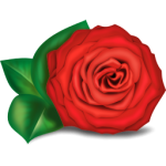 flowers icon red ‫(29601685)‬ ‫‬