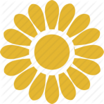 flowers icon yellow ‫(1)‬ ‫‬