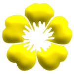 flowers icon yellow ‫(2)‬ ‫‬