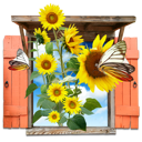 flowers icon yellow ‫(29601674)‬ ‫‬
