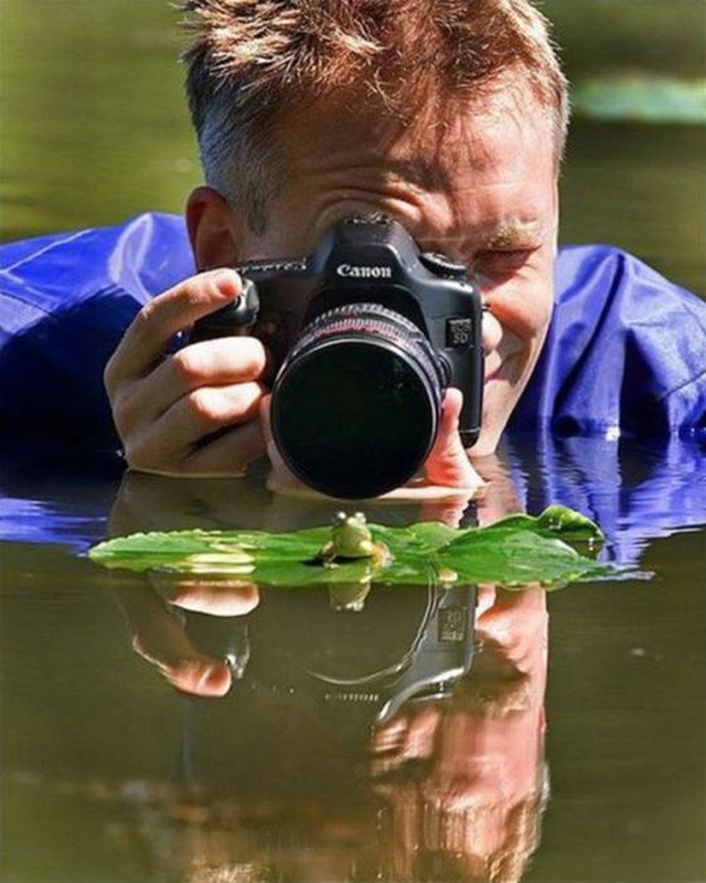بالصور : متاعب مهنة التصوير