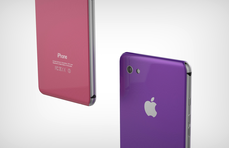 قفزة عبر الزمن :شاهد كيف يمكن أن يبدو هاتف الايفون 8