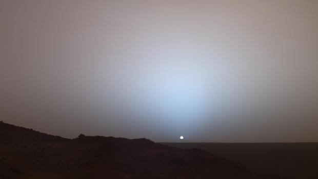 فيديو مثير تنشره وكالة ناسا عن غروب الشمس على كوكب المريخ