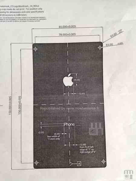 وثيقة مسربة تقول ان الايفون 6 سيأتي بشاشة حجمها 6 بوصة