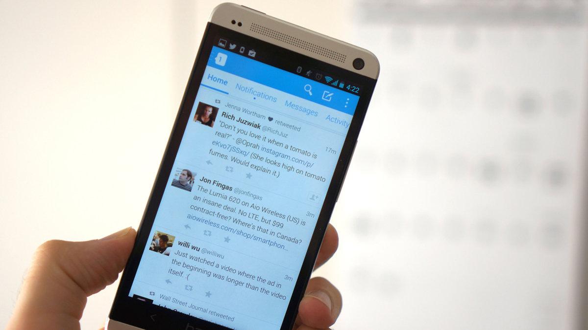 تويتر تنشر عدد قراءة التغريدات لبعض مستخدمي الايفون والايباد